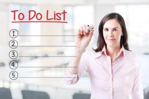 Чек листы и контрольные списки