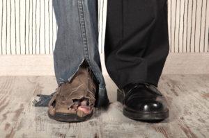 Разница между богатыми и бедными